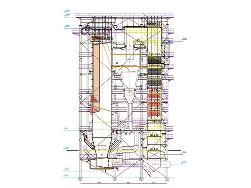 CHG系列300-9.8-M型循环流化床万博体育手机登录网址