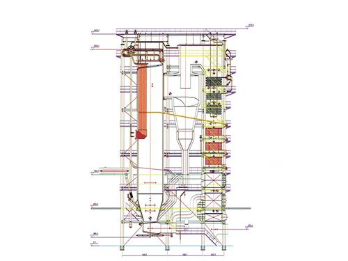 CHG系列240-3.82-M型循环流化床万博体育手机登录网址